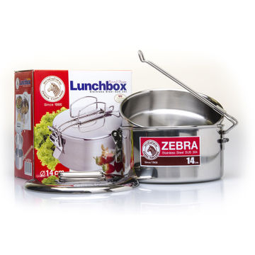 Zebra Stainless Steel Camping Pot 14cm
