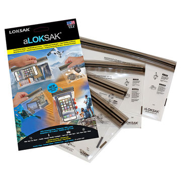 aLOKSAK Resealable Bags Multi Pack - Small