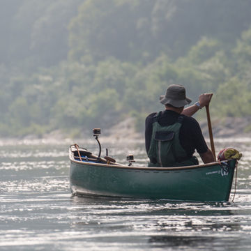 Canoeing in the Ardeche with Ray Mears