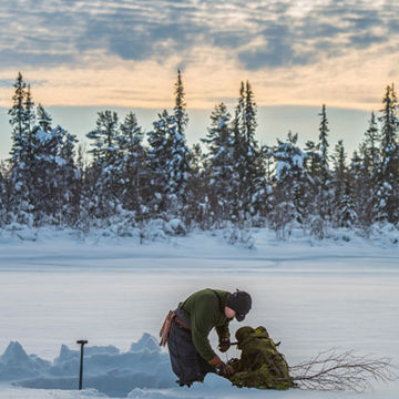 Winter Bushcraft in the Northern Forest with Ray Mears