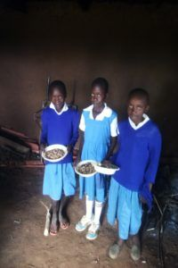 Kenya shoes and lunches