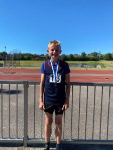 James Hare Athletes Devon Schools Track and Field Championships