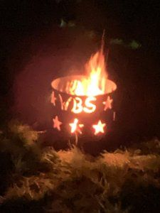 West Buckland School Camp Fire