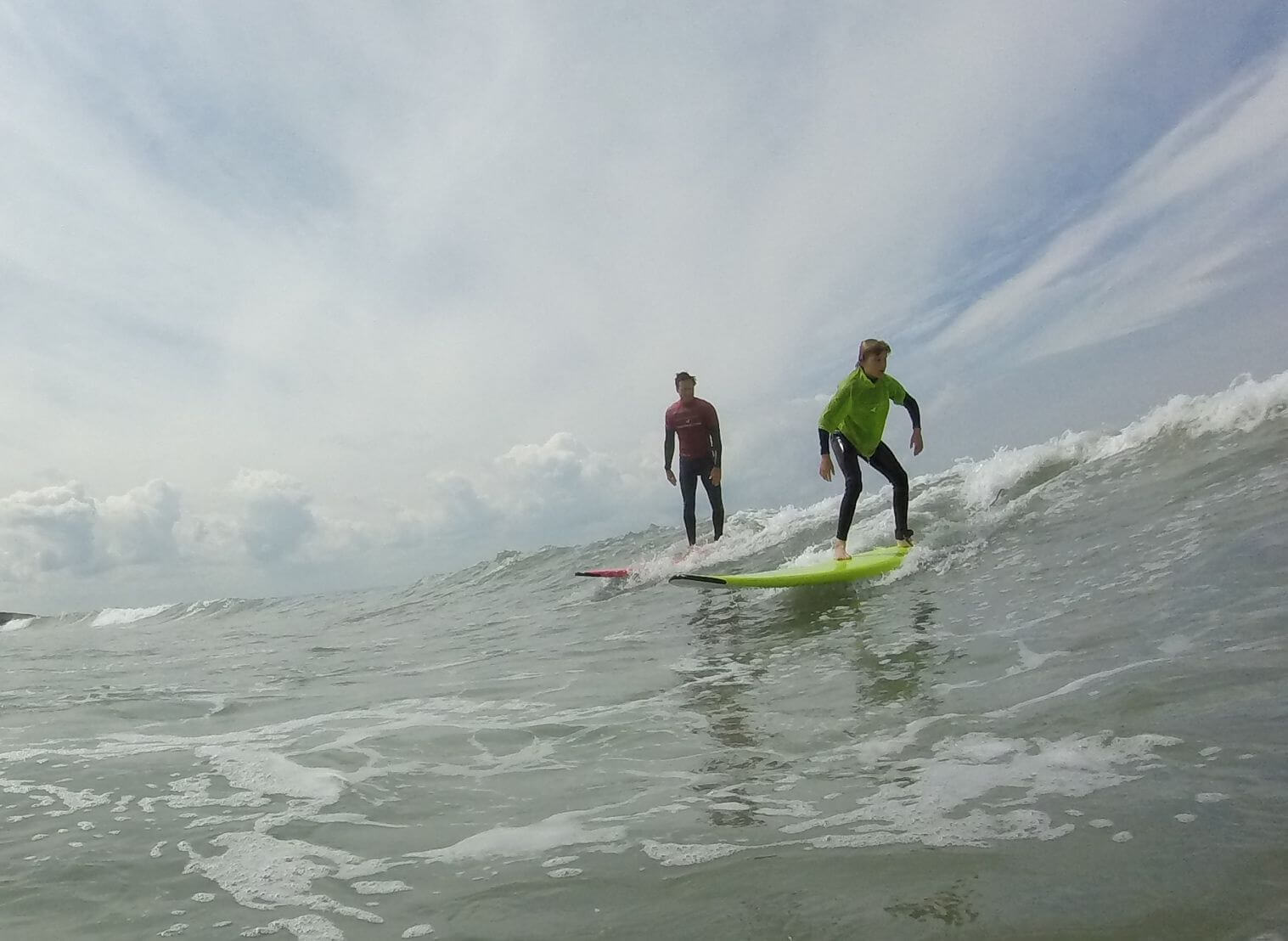 Private surf coaching at Croyde