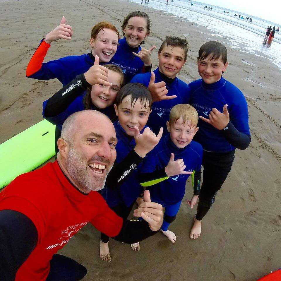 surf lessons in croyde bay