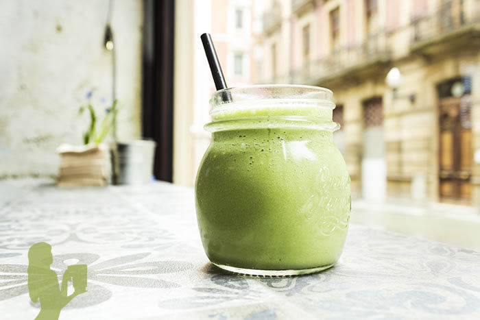 Orange Wheatgrass Smoothie