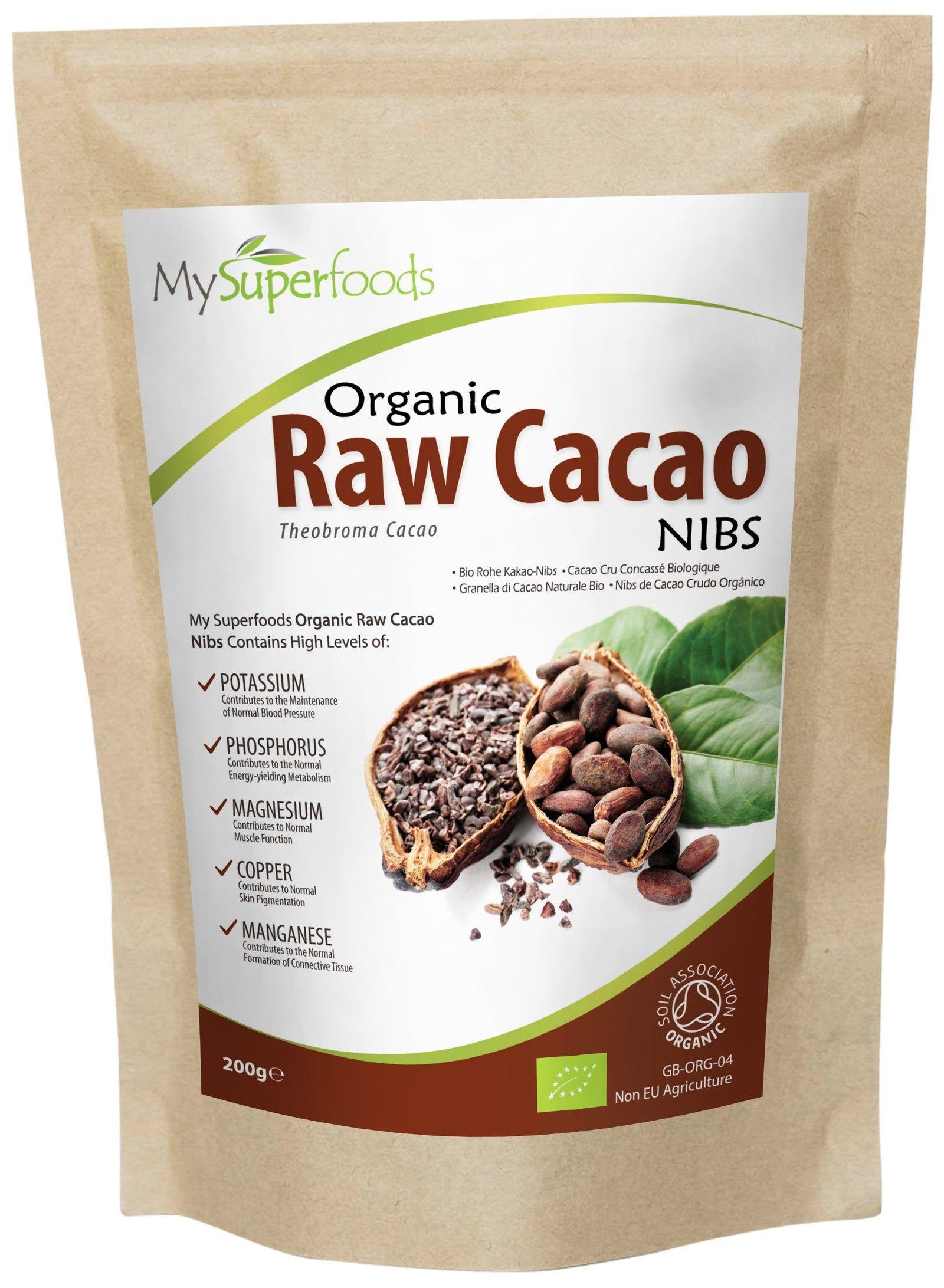 Nibs de cacao orgánico ES