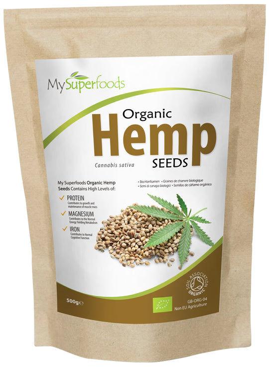 Organic Hemp Seeds