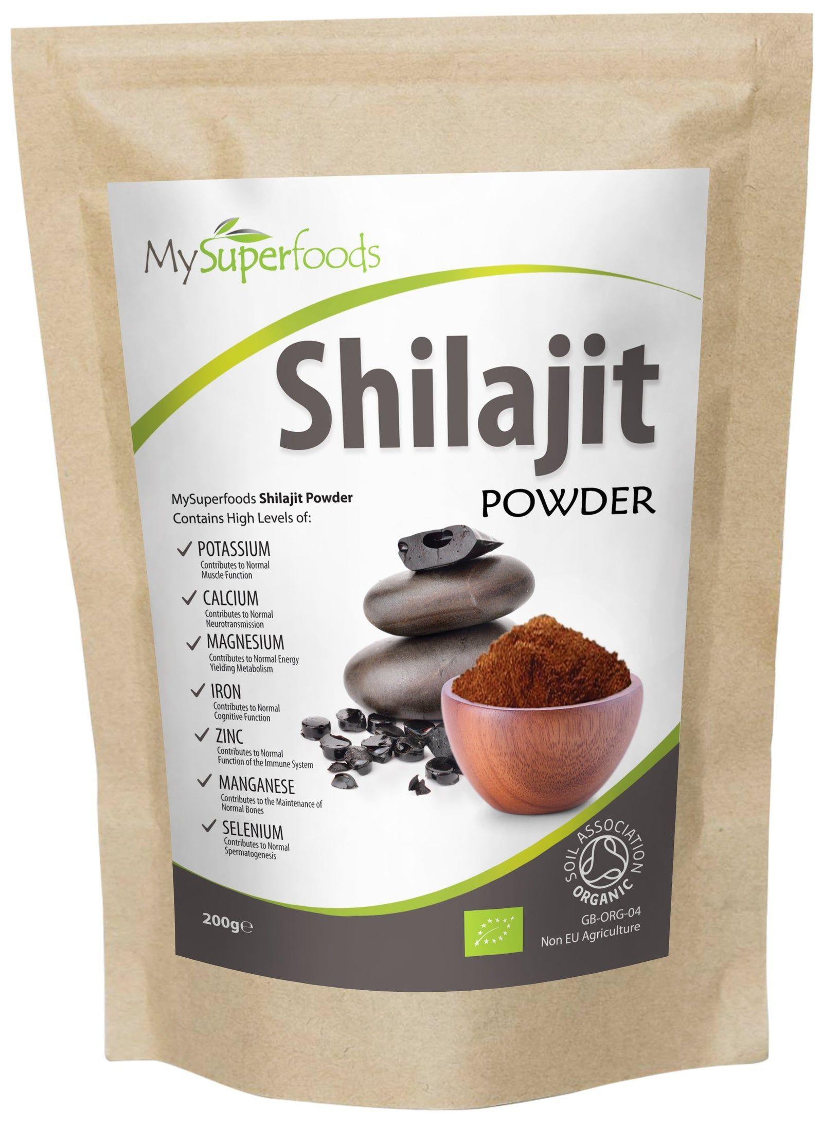 Polvo de Shilajit