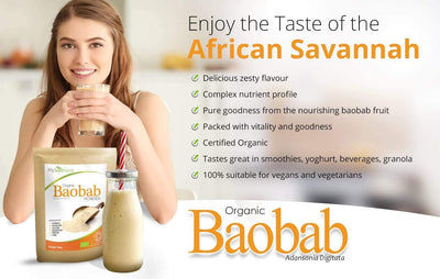 Bio Baobab Pulver