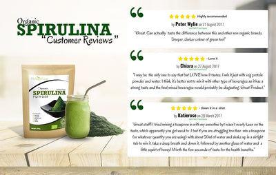 Organic Spirulina Powder (1lb)