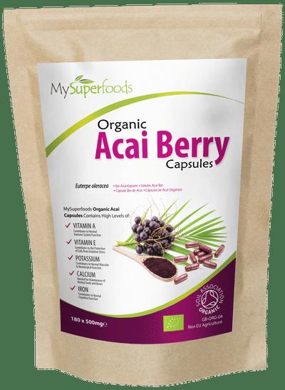 Organic Acai Capsules