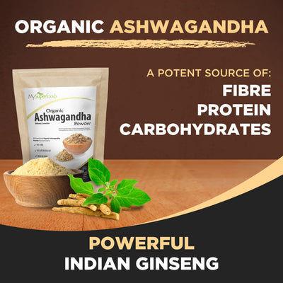Polvo de Ashwagandha Orgánico