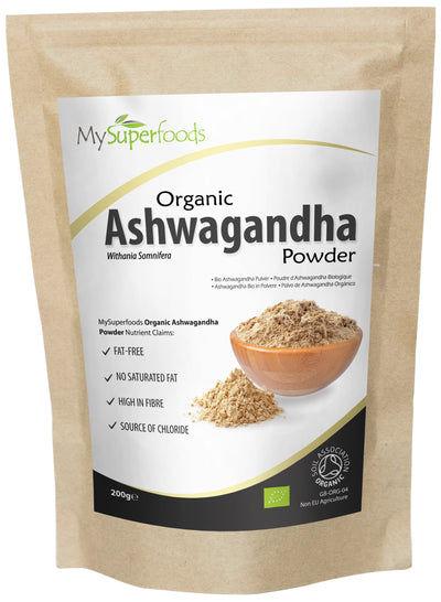 Polvere Organica di Ashwagandha