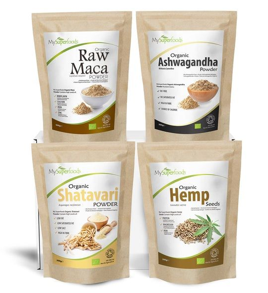 Hormonal Balance/Menopause Superfood Bundle