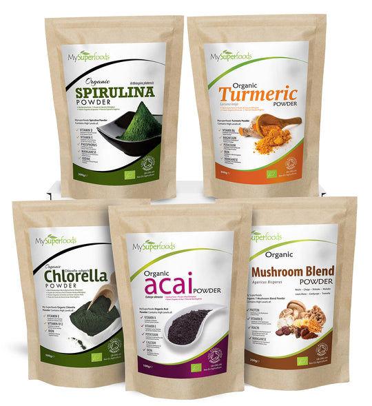 Enhanced Immunity Superfood Bundle