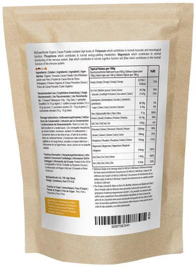 Cacao Crudo Biologico in Polvere