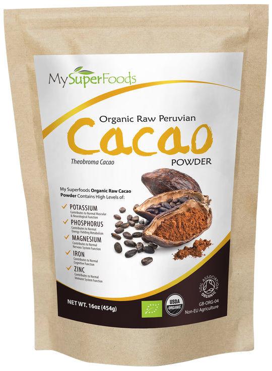 Organic Cacao Powder (1lb)
