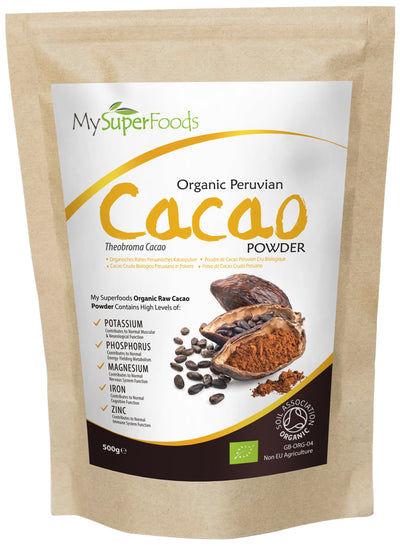 Polvo de Cacao Peruano Orgánico