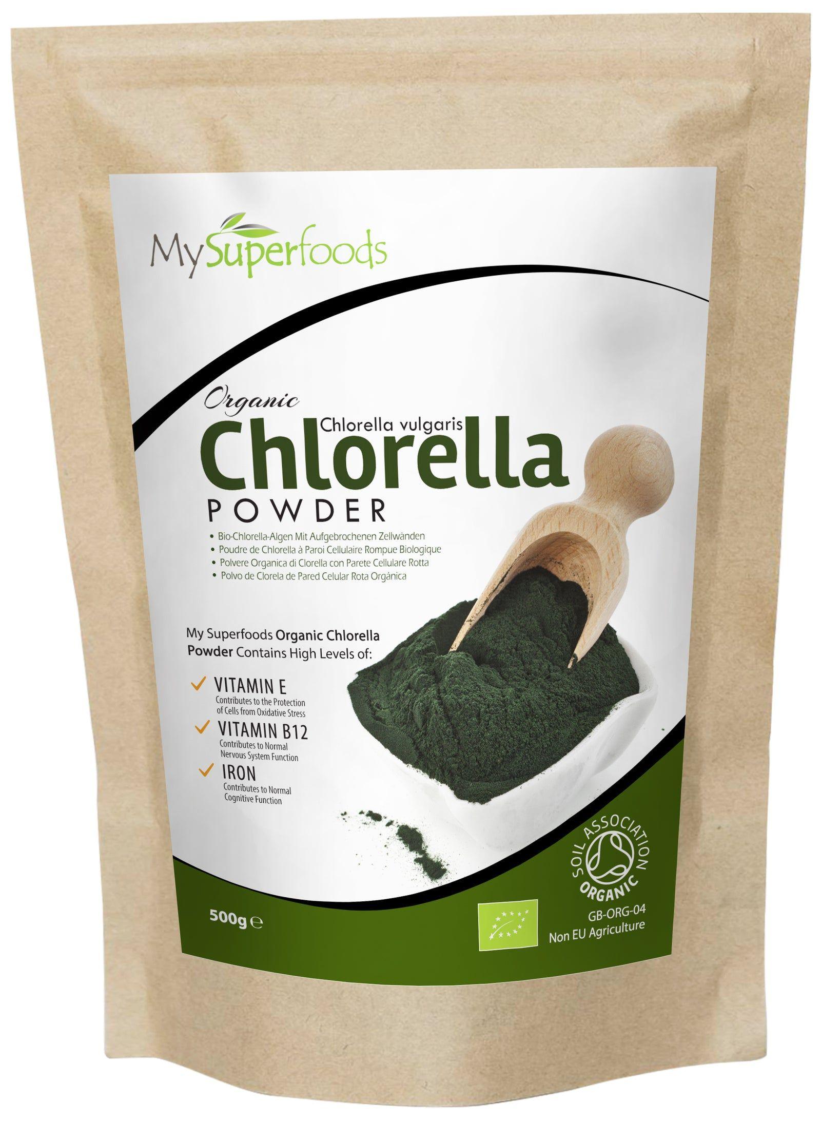 Bio Chlorella-Pulver