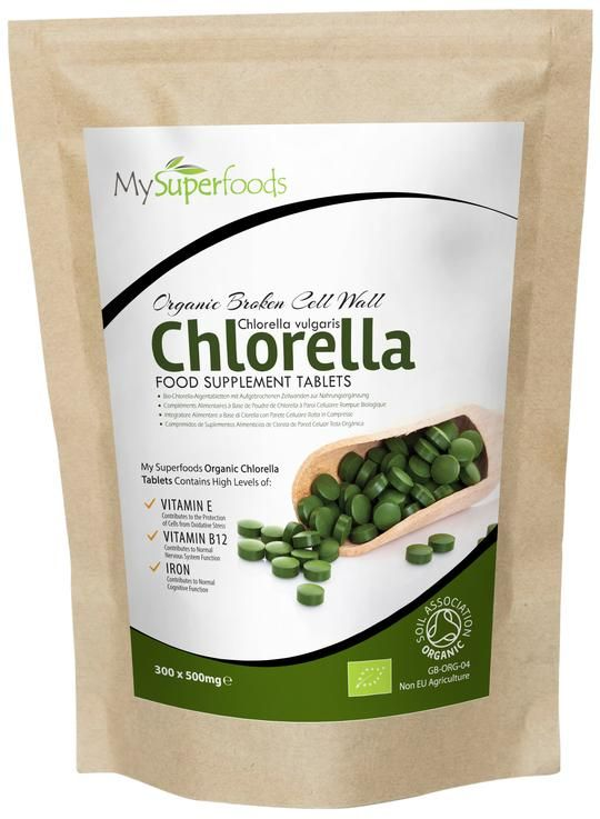 Bio Chlorella-Tabletten (300 x 500mg)