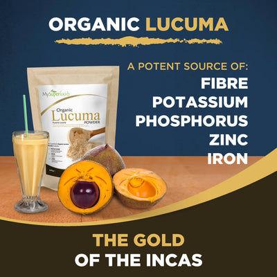 Polvo Orgánico De Lúcuma