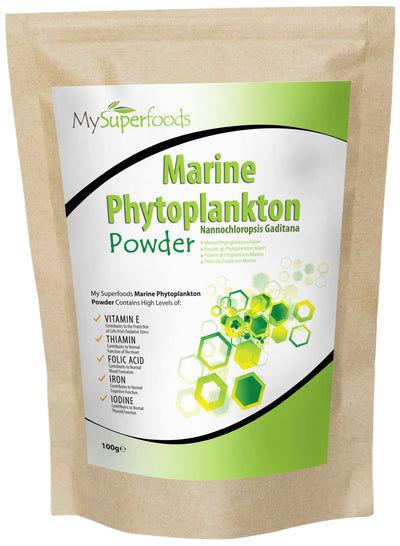 Poudre De Phytoplancton Marin