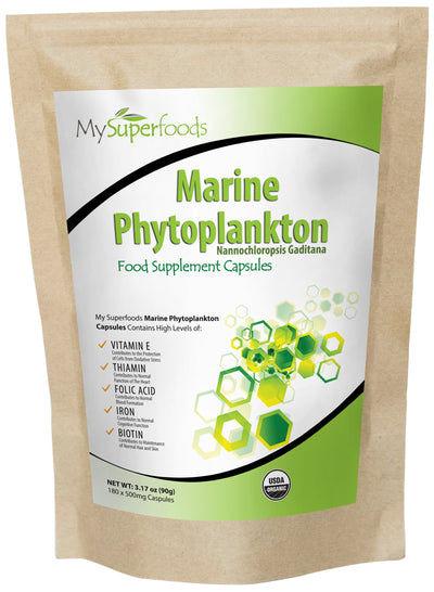 capsules De Phytoplancton Marin (180 Capsules X 500mg)