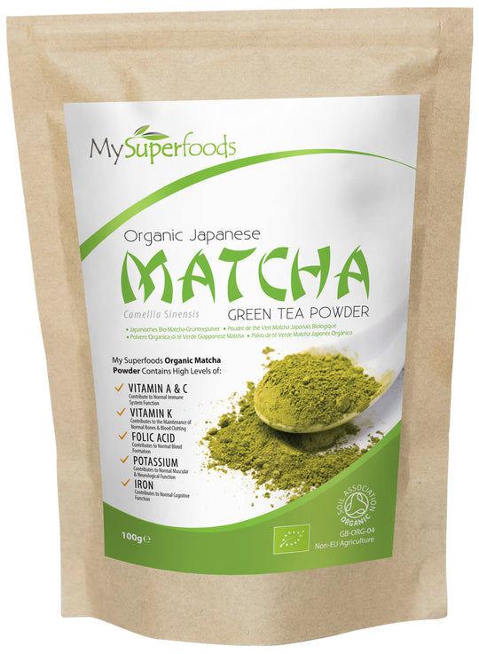 Tè Verde Matcha Biologico in Polvere