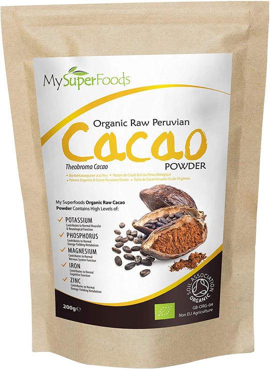 Bio rohes Kakaopulver