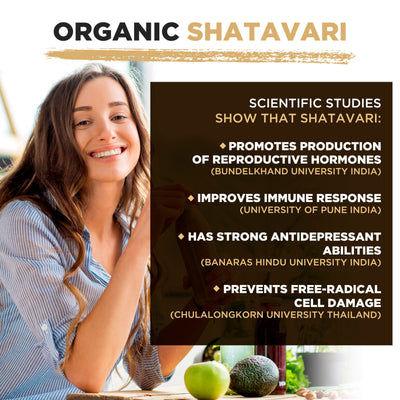 Polvo Shatavari Orgánico