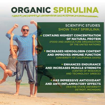 Espirulina En Polvo Orgánico