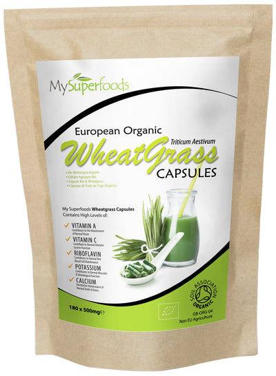 Bio-Weizengras Kapseln