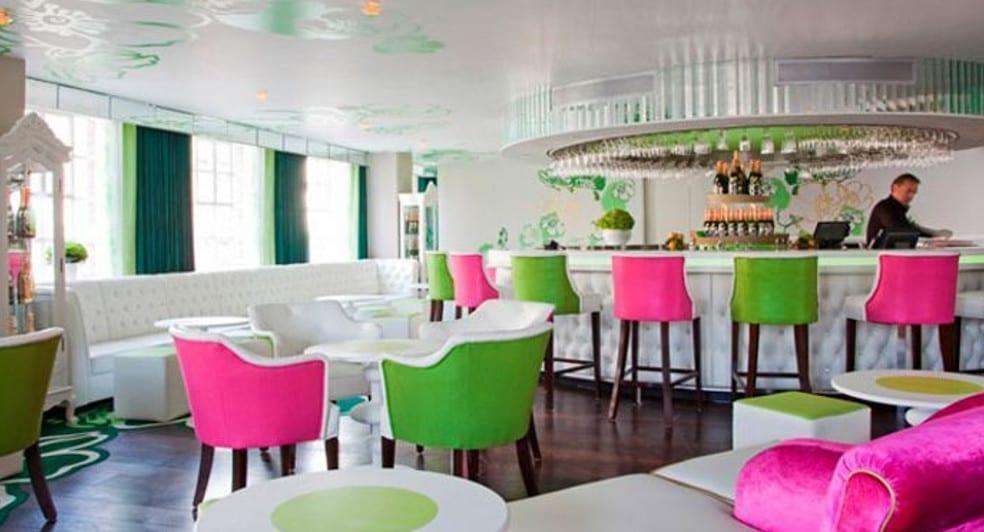 Fifth Floor Champagne Bar Harvey Nichols