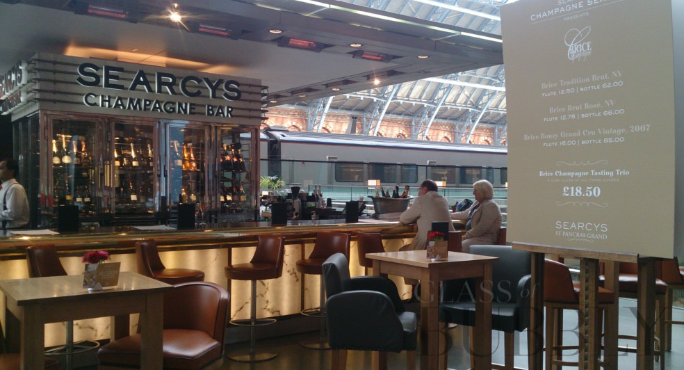 Searcys Champagne Bar St Pancreas