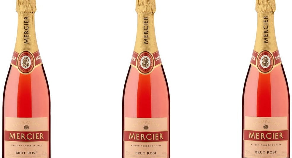 Fabriksnye Champagne Mercier Brut Rosé | Glass Of Bubbly LA-95