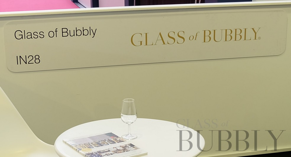 Glass of Bubbly at London Wine Fair