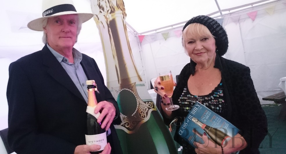 First Glass of Bubbly Tent to launch at The Vine, Great Bardfield, Essex.