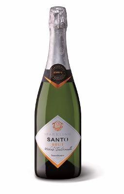 SANTO Sparkling Wine Brut Méthode Traditionelle | Glass Of