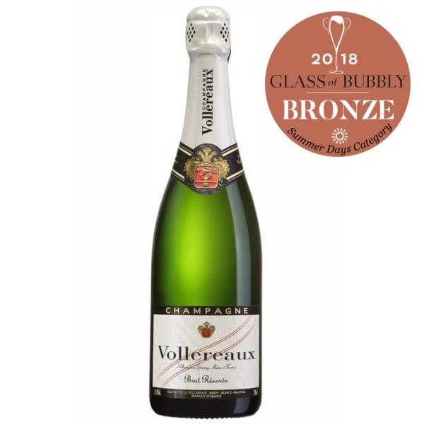 Champagne Vollereaux – Brut Réserve – France