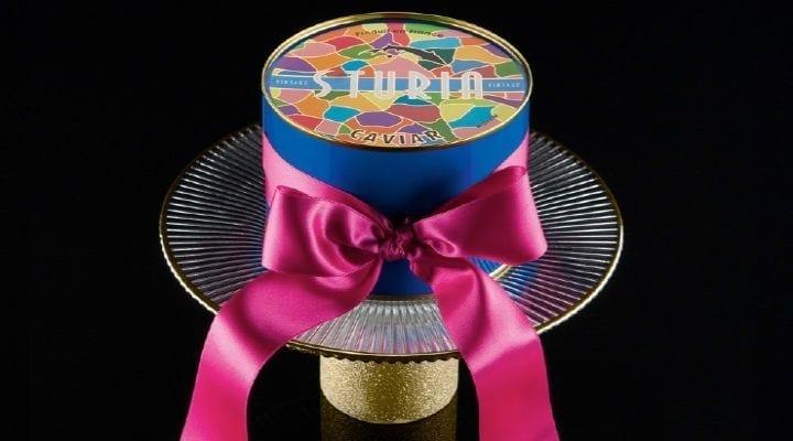 Enjoy Sturia Caviar with a Glass of Bubbly