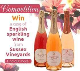 Win a Case of English Sparkling Wine from Sussex Vineyards (NOW CLOSED)