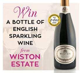 Win a Bottle of Wiston Estate English Sparkling Wine