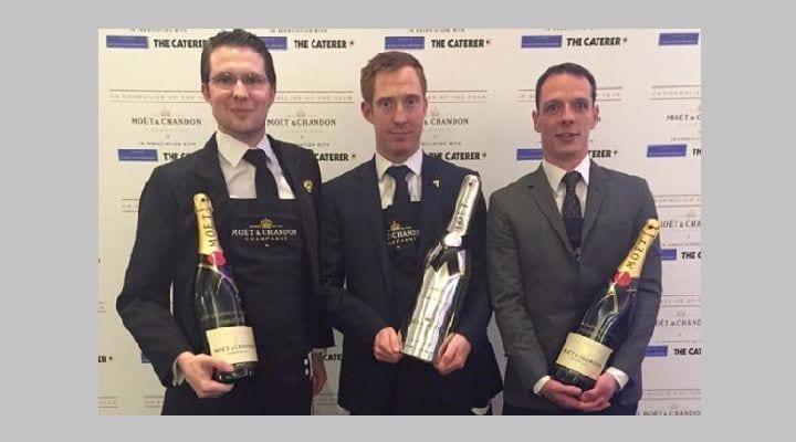Tanguy Martin of Hotel TerraVina named Moët UK Sommelier of the Year 2015