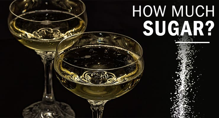 How Much Sugar Is In Your Glass Of Bubbly Glass Of Bubbly