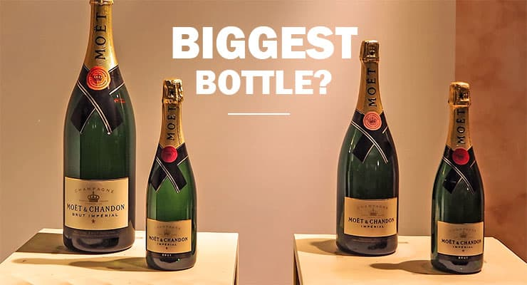 What's the Biggest Champagne Bottle size? | Glass Of Bubbly