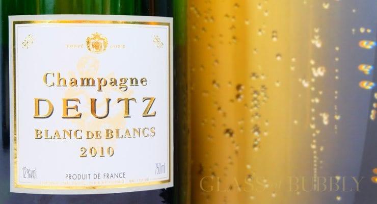 Champagne Deutz 2010 Blanc de Blancs Vintage and bubbles