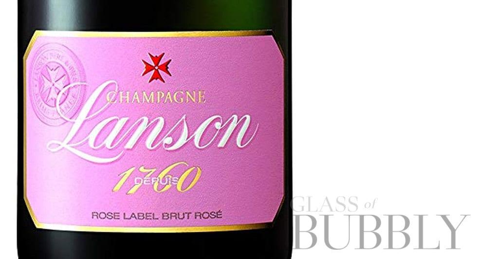 Champagne Lanson Rose Label Brut Rosé NV