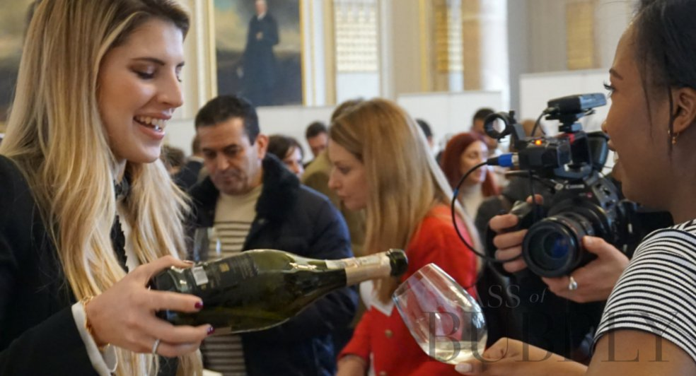 Champagne tasting events london