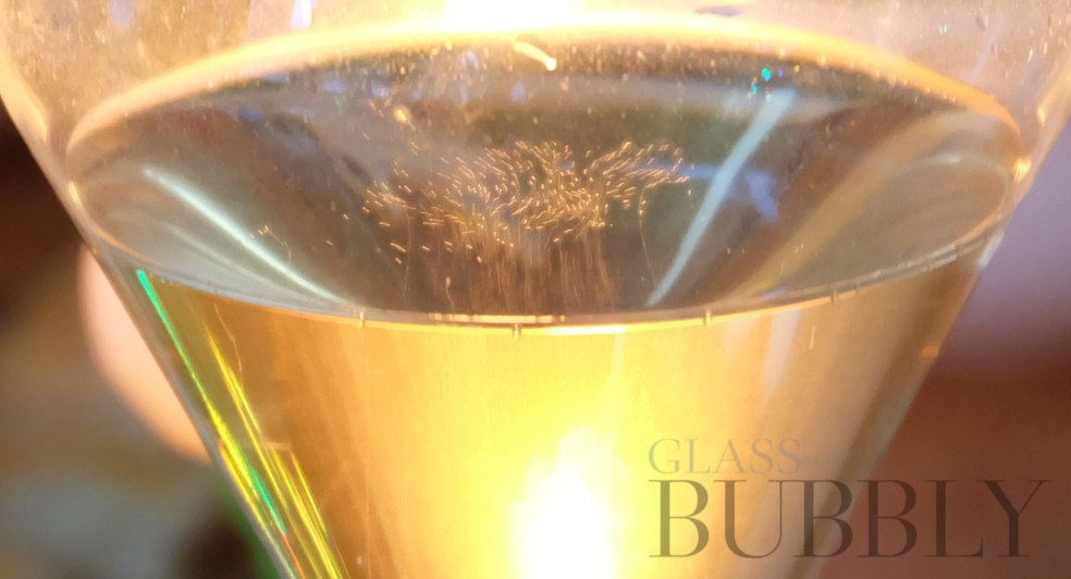Champagne Agrapart et Fils glass